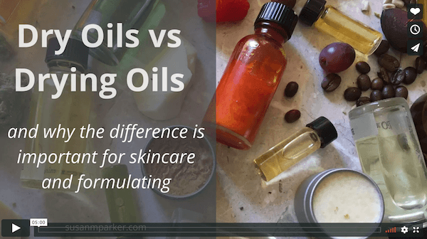 Dry vs Drying Oils