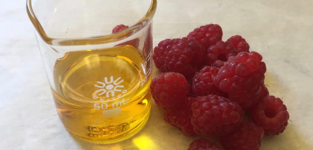 raspberry seed oil and raspberries
