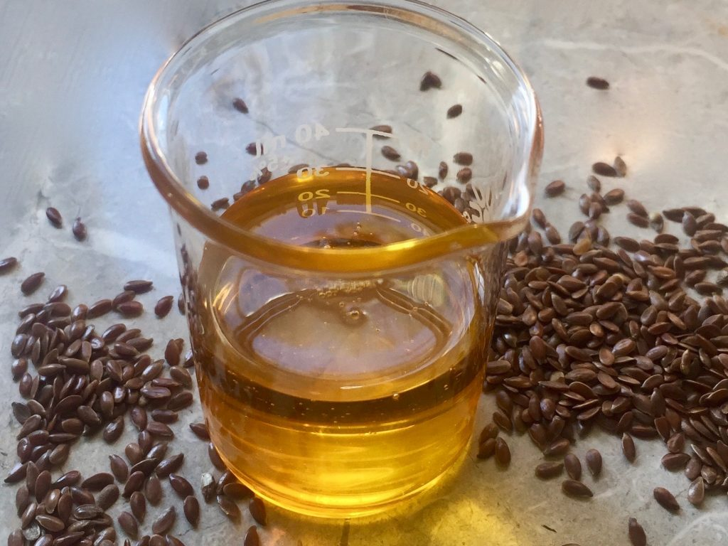 flax seed oil and flax seeds