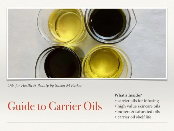 carrier oil guide image