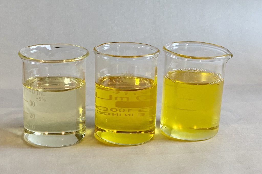 three carrier oils